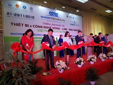 150 doanh nghiệp tham dự Vietnam Growtech