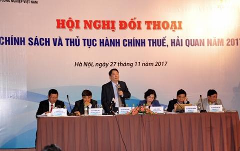 Sắp diễn ra hội nghị đối thoại chính sách thuế, hải quan