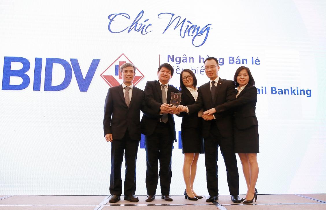 BIDV: Ngân hàng bán lẻ tiêu biểu