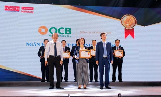 Dịch vụ bán lẻ OCB nhận giải Tin & Dùng 2018
