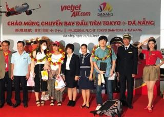 Vietjet khai trương đường bay Đà Nẵng - Tokyo