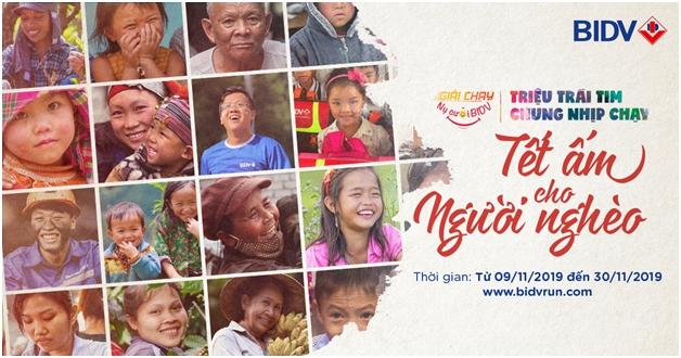 Nụ cười BIDV - Tết ấm cho người nghèo 2020
