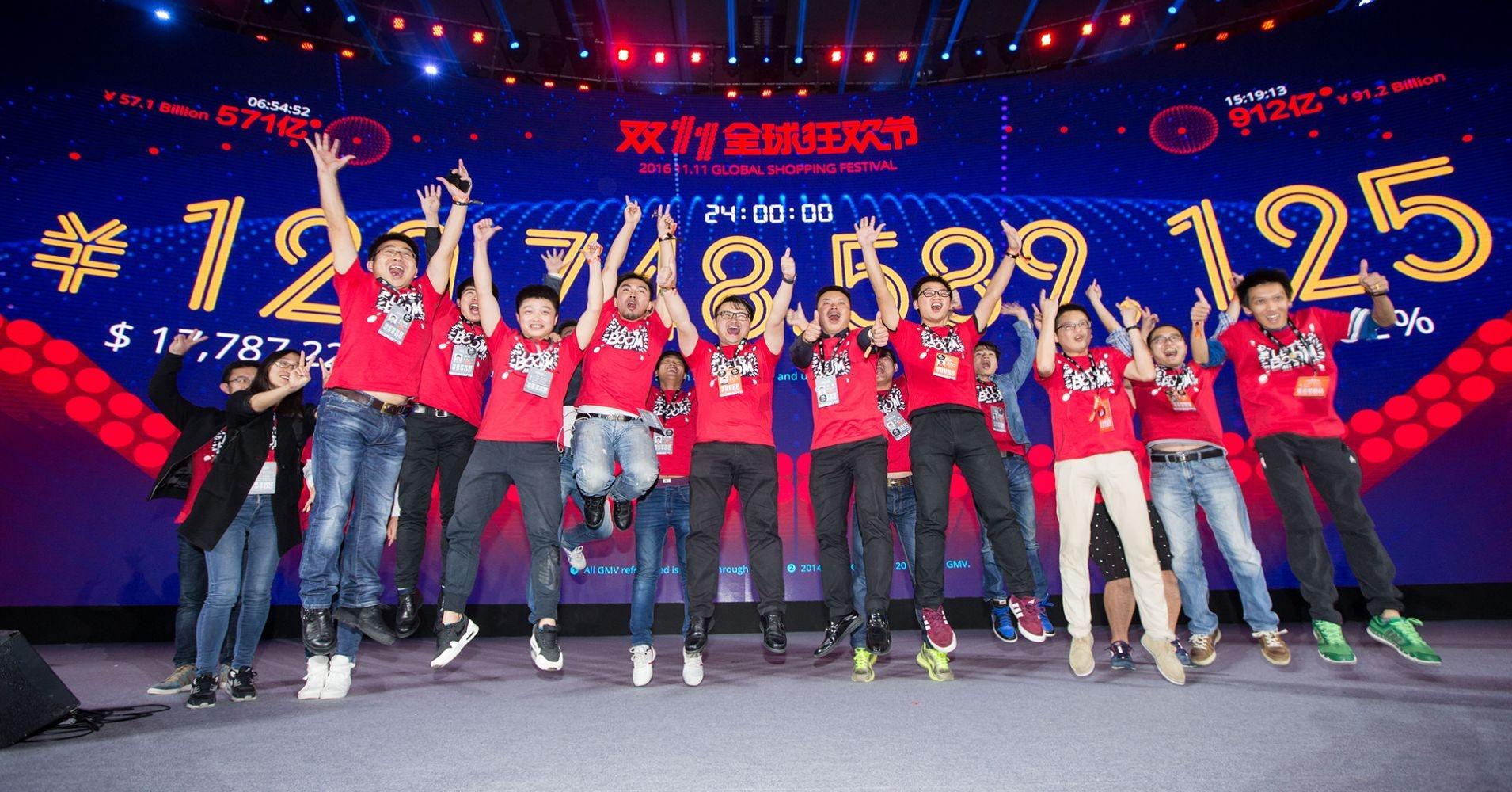 Alibaba đạt doanh thu hơn 38 tỷ USD trong Ngày độc thân, hàng Mỹ không bị 'ghẻ lạnh'