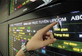 UPCoM tháng 10: Giá trị giao dịch tăng 19,6%