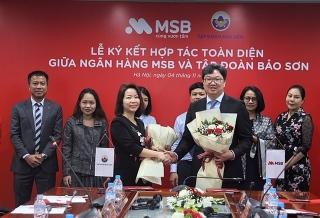 MSB và Tập đoàn Bảo Sơn ký kết hợp tác toàn diện