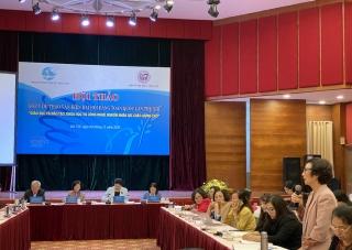 Lực lượng nữ trí thức góp ý văn kiện Đại hội XIII của Đảng