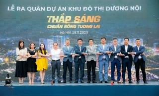 """Hàng nghìn """"chiến binh"""" tham dự Lễ ra quân dự án Khu đô thị Dương Nội"""