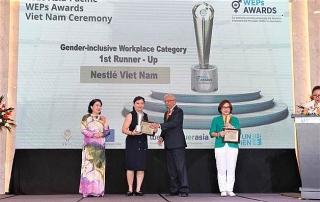 Nestlé Việt Nam nhận giải thưởng về Trao quyền cho Phụ nữ