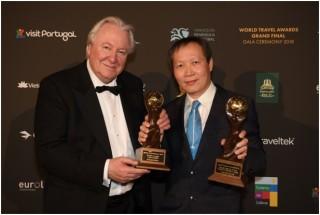 Vietnam Airlines nhận 2 giải thưởng tại World Travel Awards 2018