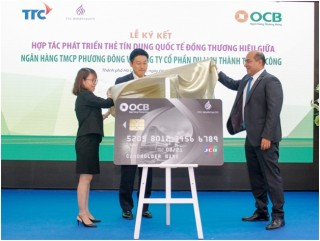 Ra mắt thẻ đồng thương hiệu OCB TTC Hospitality JCB Platinum