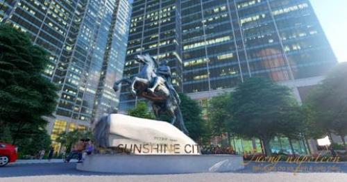Sunshine City Sài Gòn - dấu ấn Nam tiến của 'ông lớn' bất động sản