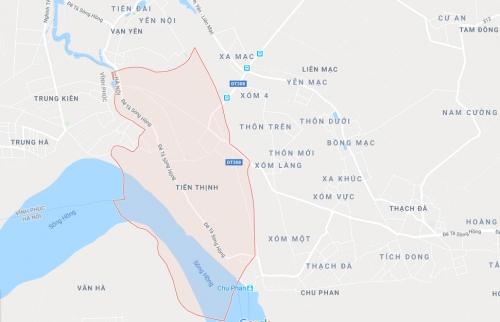 Giao hơn 1.533 m2 đất ở Mê Linh phục vụ đấu giá