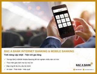 BAC A BANK Mobile Banking: Cài App liền tay - Nhận ngay quà tặng