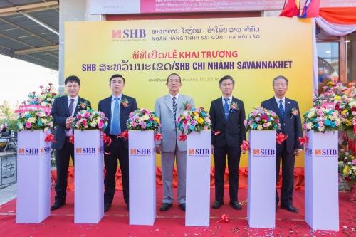 SHB khai trương thêm chi nhánh ở Savannakhet, Lào