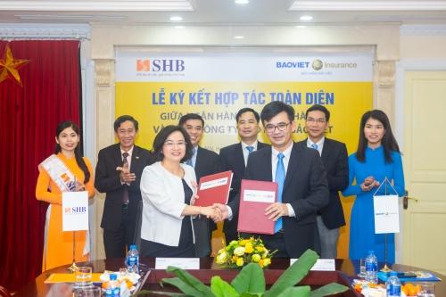 SHB và Bảo Việt hợp tác chiến lược toàn diện