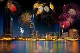 TP.HCM: Chào năm mới 2019 sẽ bắn pháo hoa tại Thủ Thiêm, Đầm Sen