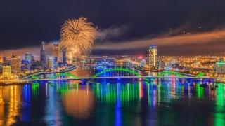 Đà Nẵng: Bắn pháo hoa chào mừng năm mới 2019 và Tết Kỷ Hợi