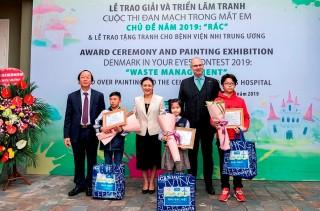 Đan Mạch trong mắt em hấp dẫn trẻ em Việt Nam