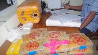 Xuất hiện lượng lớn ma túy trôi dạt vào biển miền Trung