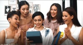 Sản phẩm ngân hàng được thí sinh Miss Universe Việt Nam 2019 tung thành MV