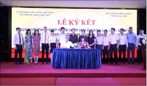 Ngành Ngân hàng Lạng Sơn đồng hành cùng doanh nghiệp phát triển kinh tế địa phương