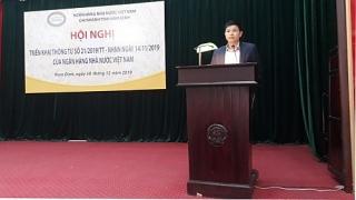 NHNN Chi nhánh tỉnh Nam Định triển khai, tập huấn Thông tư 21