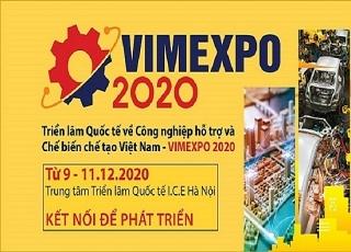 Triển lãm quốc tế về Công nghiệp hỗ trợ và Chế biến chế tạo Việt Nam - VIMEXPO 2020
