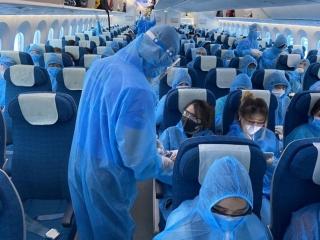 Siết chặt biện pháp phòng dịch với thành viên tổ bay