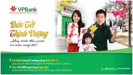 Cơ hội nhận 1 lượng vàng SJC khi gửi tiết kiệm tại VPBank