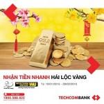 Techcombank khuyến mãi lớn với dịch vụ chuyển tiền Western Union