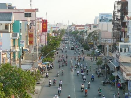 TP.HCM: Hạn chế xe tải lưu thông trên đường Huỳnh Tấn Phát