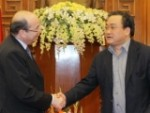 Phó Thủ tướng Hoàng Trung Hải tiếp Phó Chủ tịch WB