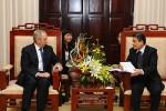 Phó Thống đốc Nguyễn Toàn Thắng tiếp Chủ tịch Tập đoàn Ngân hàng ANZ
