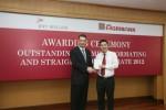 Agribank năm thứ tư liên tiếp nhận giải chất lượng thanh toán của BNY