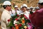 Ngăn sông Đà đợt 1 xây dựng công trình thuỷ điện Lai Châu