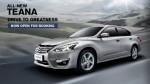 Nissan bắt đầu nhận đặt hàng Teana L33 2014