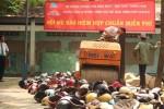 Tiêu hủy hơn 10.000 mũ bảo hiểm không đạt chuẩn