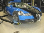 Bugatti Veyron bị tai nạn hư hỏng nặng vẫn bán tiền tỷ