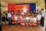 Trung thu sớm cho trẻ em khuyết tật ở Chùa Ngòi