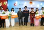 Trao học bổng TienPhong Bank cho sinh viên Việt Nam