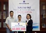 OceanBank tài trợ trên 1 tỷ đồng cho cháu Trần Danh Tùng