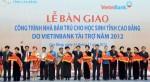 VietinBank bàn giao 20 công trình nhà bán trú cho học sinh tỉnh Cao Bằng