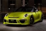 Porsche 911 Targa 4 diện áo vàng chanh độc đáo