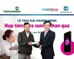 Smartlink trao Iphone 16Gb cho khách hàng trúng thưởng