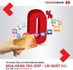Techcombank ra mắt dịch vụ Tài khoản thấu chi Techcombank-MobiVi