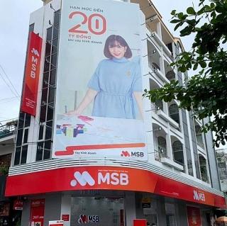 MSB thay đổi địa điểm giao dịch của Chi nhánh Bình Định