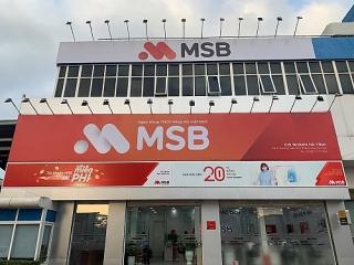 MSB thay đổi địa điểm giao dịch của Chi nhánh Hà Tĩnh