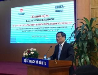 Hàn Quốc hỗ trợ Việt Nam phát triển hệ thống thông tin về đầu tư