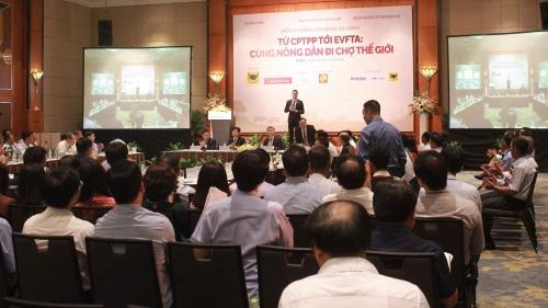 Tận dụng CPTPP, EVFTA để đưa nông sản Việt ra biển lớn
