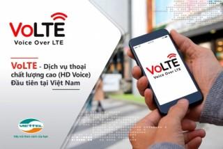 Viettel ra mắt dịch vụ thoại VoLTE